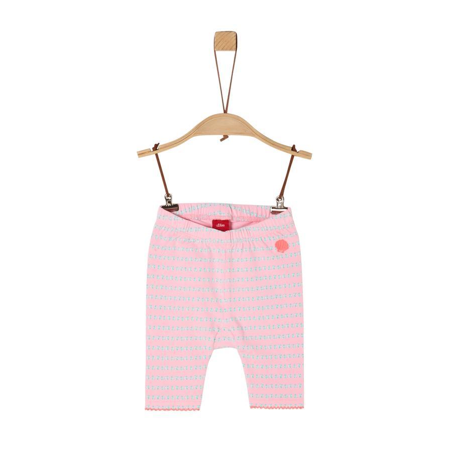 S. Oliver Capri leggings lys rosa