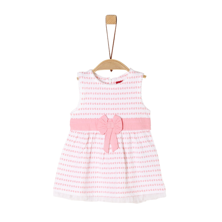 s.Oliver Kleid white/pink