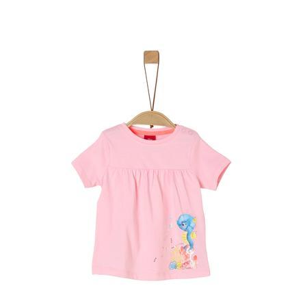 s. Olive r T-shirt poeder roze