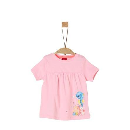 s. Olive r T-shirt rose poudré