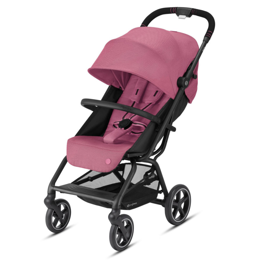 cybex GOLD Kinderwagen Eezy S+ 2 Black Magnolia Pink