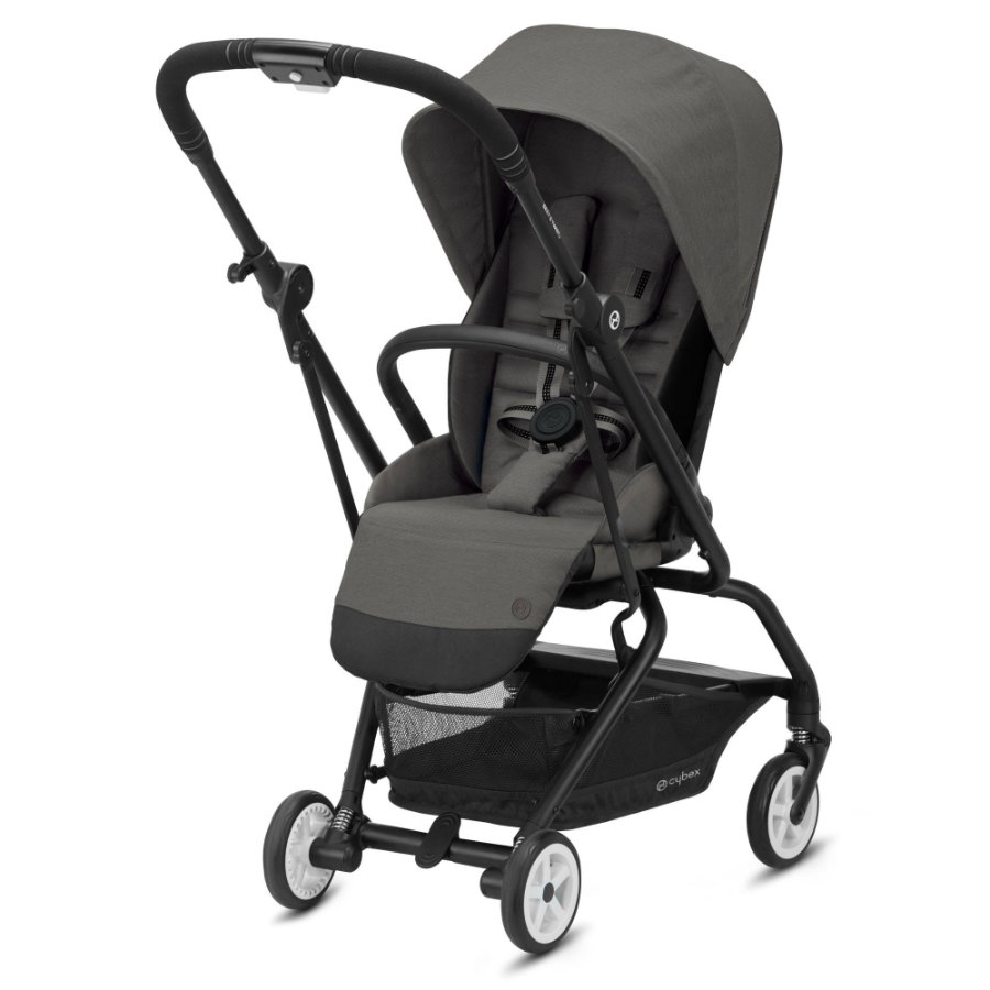cybex GOLD Kinderwagen Eezy S Twist 2 Black Soho Grey