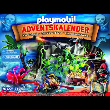 PLAYMOBIL® Calendrier de l'Avent pirates 70322