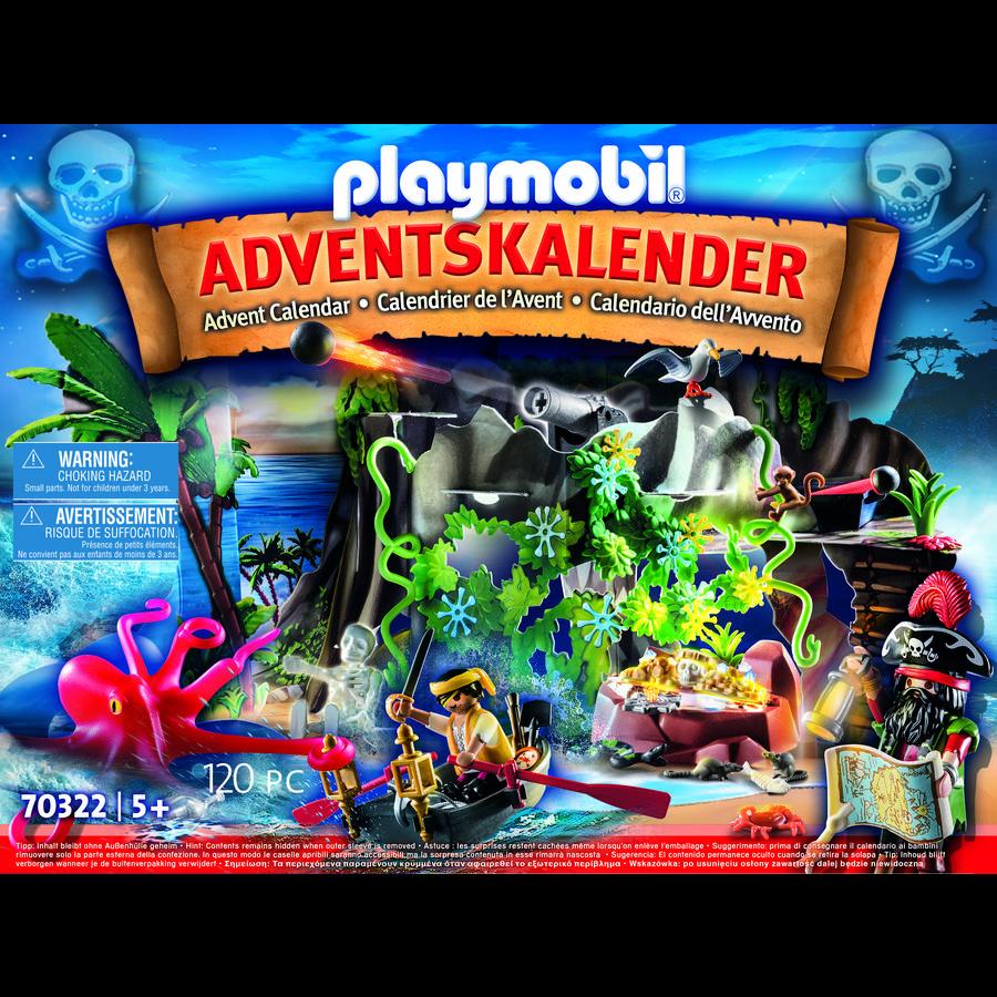 """PLAYMOBIL® Adventskalender """"Schatzsuche in der Piratenbucht"""""""