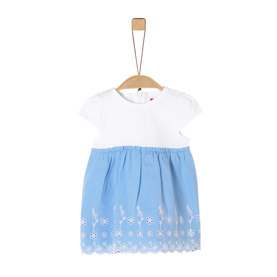 s. Olive r Blauwe jurk light