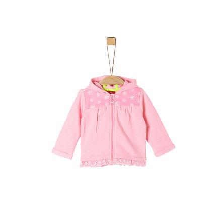s.Oliver Sweatjacke puder pink