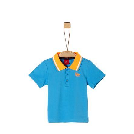 s.Oliver Polo lys skjorte blå