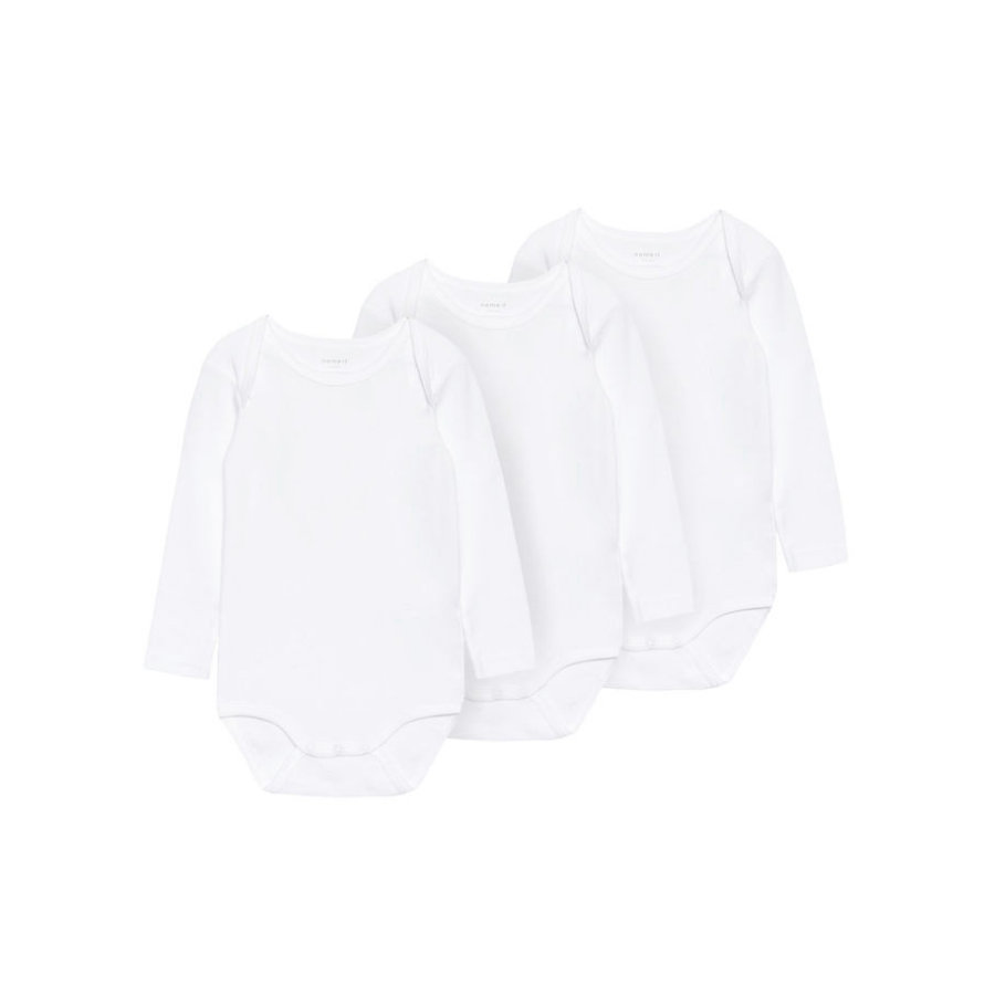 name it Body 3 pack blanco brillante