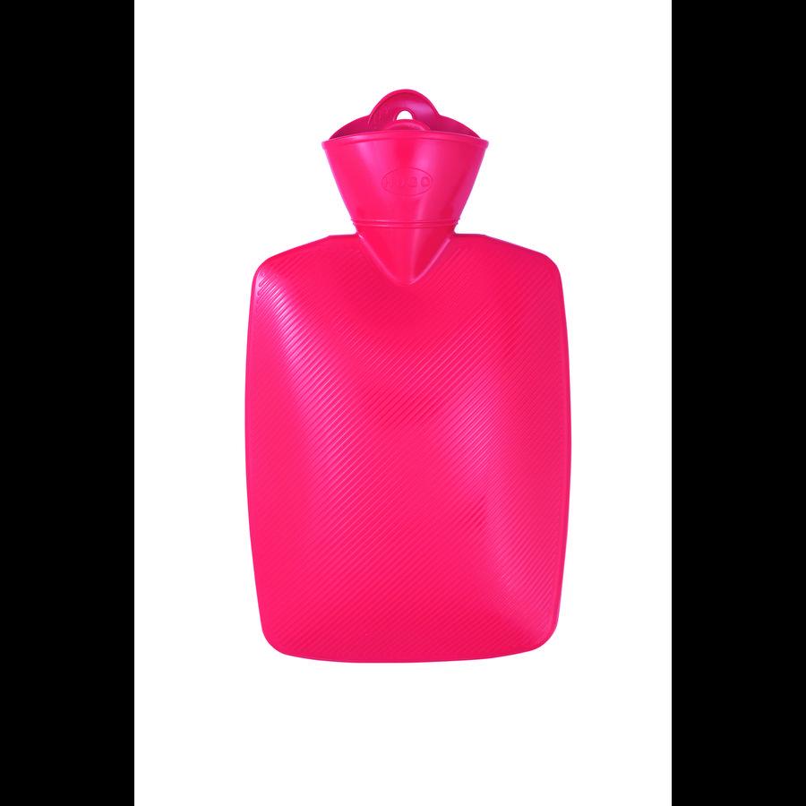 HUGO FROSCH Varmtvandsflaske 1,8 L lamellrød