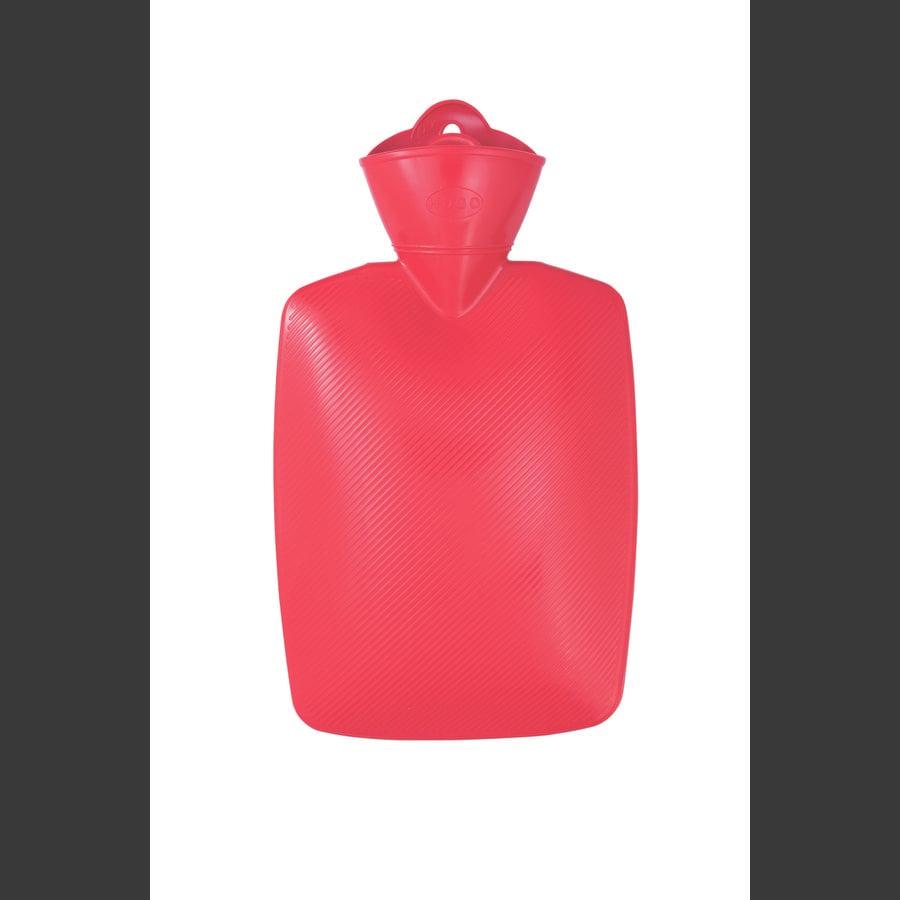 HUGO FROSCH Wärmflasche 1.8 L Lamelle rot