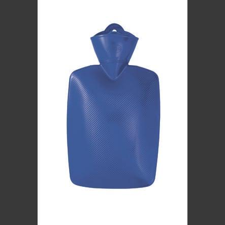 HUGO FROSCH Wärmflasche 1.8 L Lamelle blau