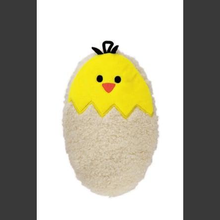 HUGO FROSCH Wärmflasche Mini 0.2 L Flauschbezug Ei