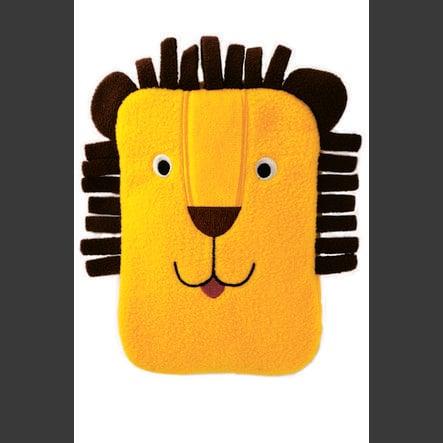 HUGO FROSCH termofor Mini 0,2 l fleecový potah lev