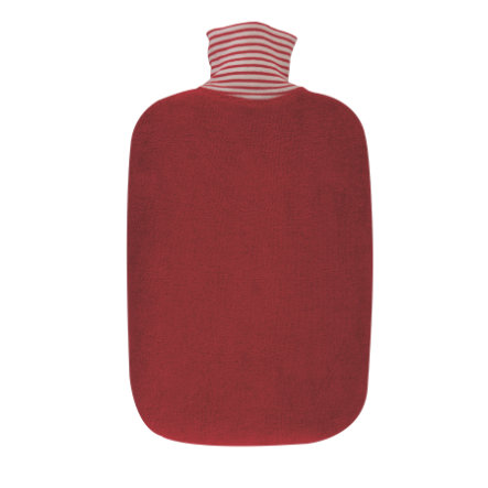 HUGO FROSCH Varmtvannsflaske eco 2,0 L organisk trekk kirsebær