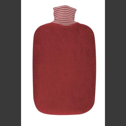 HUGO FROSCH Wärmflasche Öko 2.0 L Biobezug kirsche