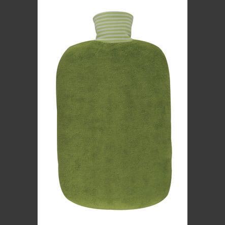 HUGO FROSCH Bottiglia d'acqua calda Öko 2.0 L copertura organica kiwi