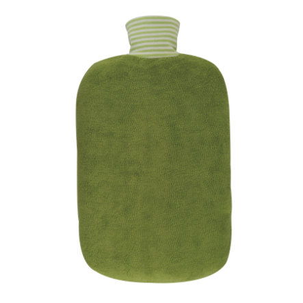 HUGO FROSCH Varmvattenflaska Öko 2.0 L organisk täckkiwi