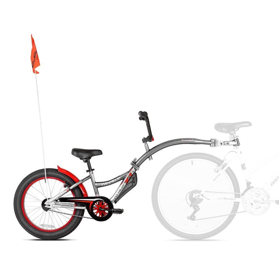 WeeRide Tandem cykeltrailer Copilot XT Grey