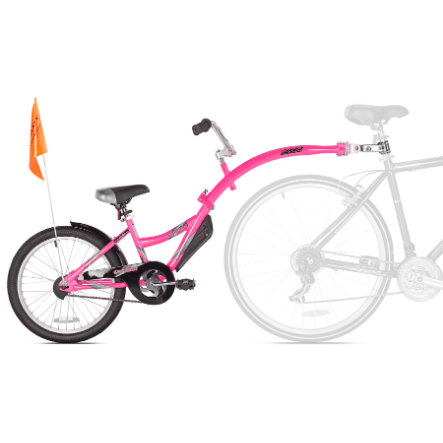 WeeRide Co-pilot Tandem pyörävaunu Pink