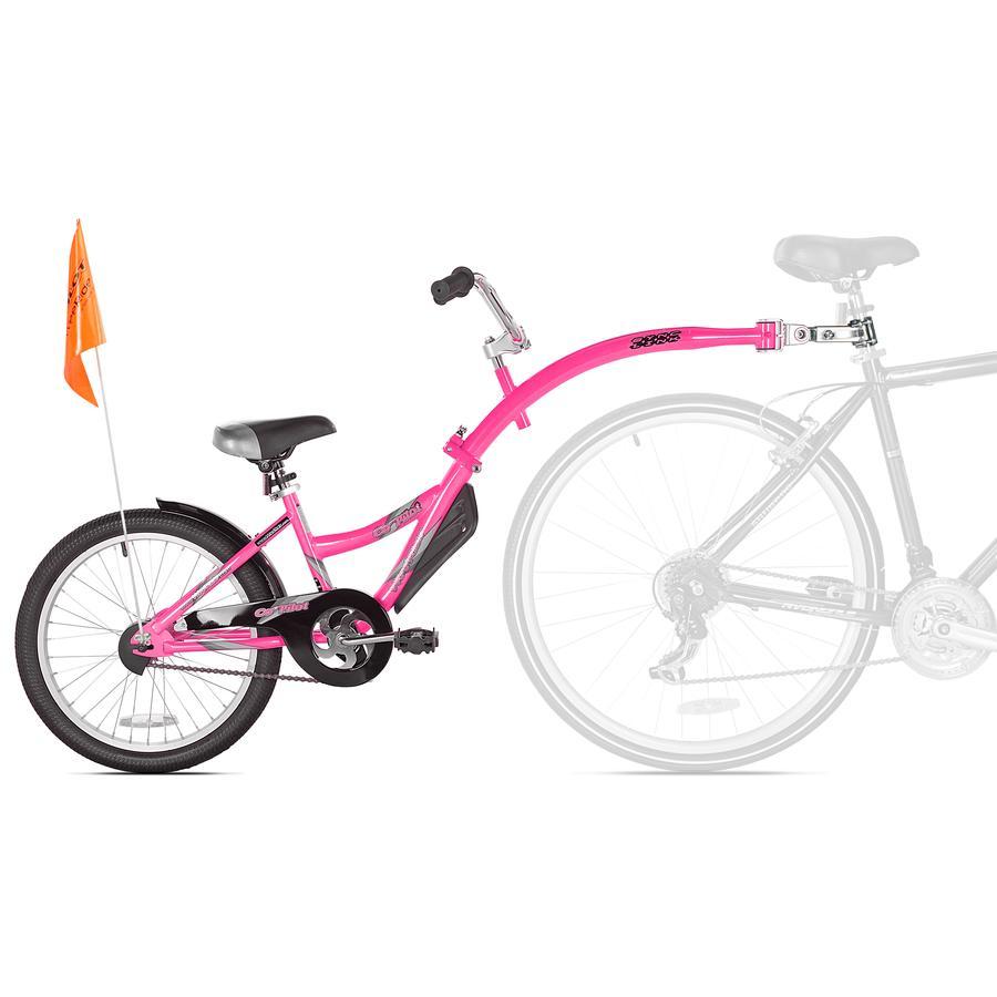 WeeRide Remolque de bicicleta tándem Copiloto Rosa
