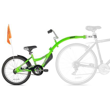 WeeRide Przyczepka rowerowa w tandemie Copilot Green