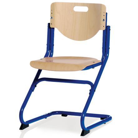 KETTLER Stuhl CHAIR PLUS, Buche/Blau 06725-040
