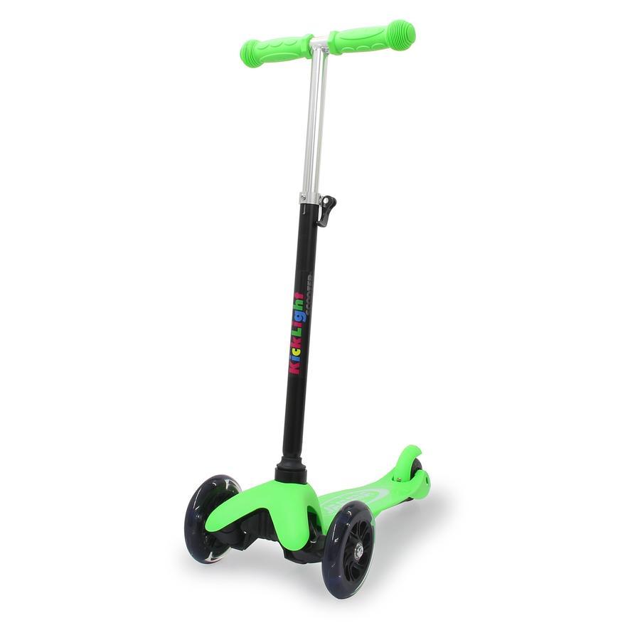 JAMARA Kick Light Scoot det, grønt