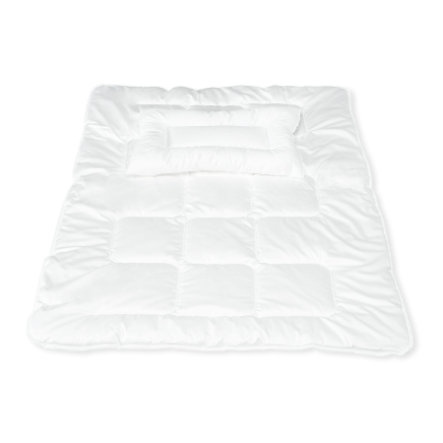 Pinolino Couette enfant piquée et oreiller plat Polytherm 100x135/40x60 cm