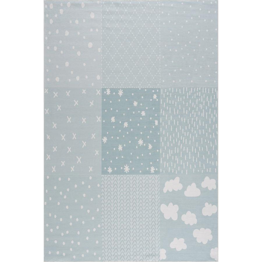 LIVONE dětský koberec Happy Rugs PATCHWORK máta 90 x 160 cm