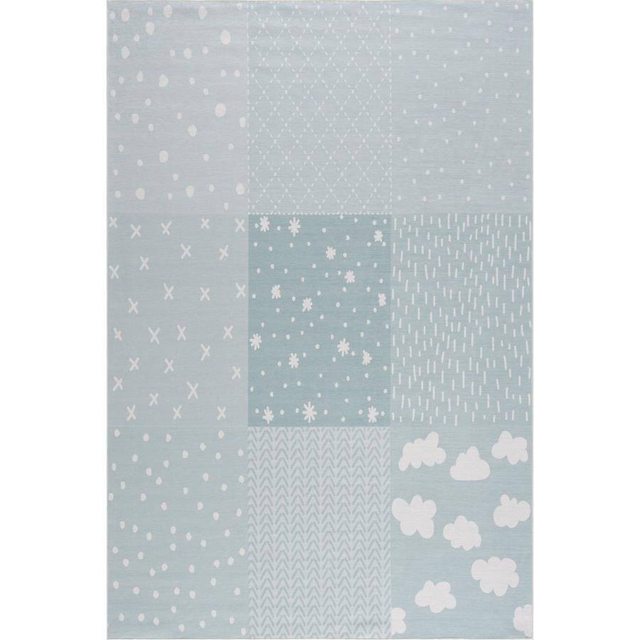 LIVONE lasten matto Happy Rugs PATCHWORK mint mint 160 x 230 cm