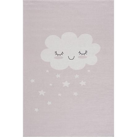 Alfombra infantil LIVONE Alfombras Happy Rugs CLOUD rosa 90 x 160 cm