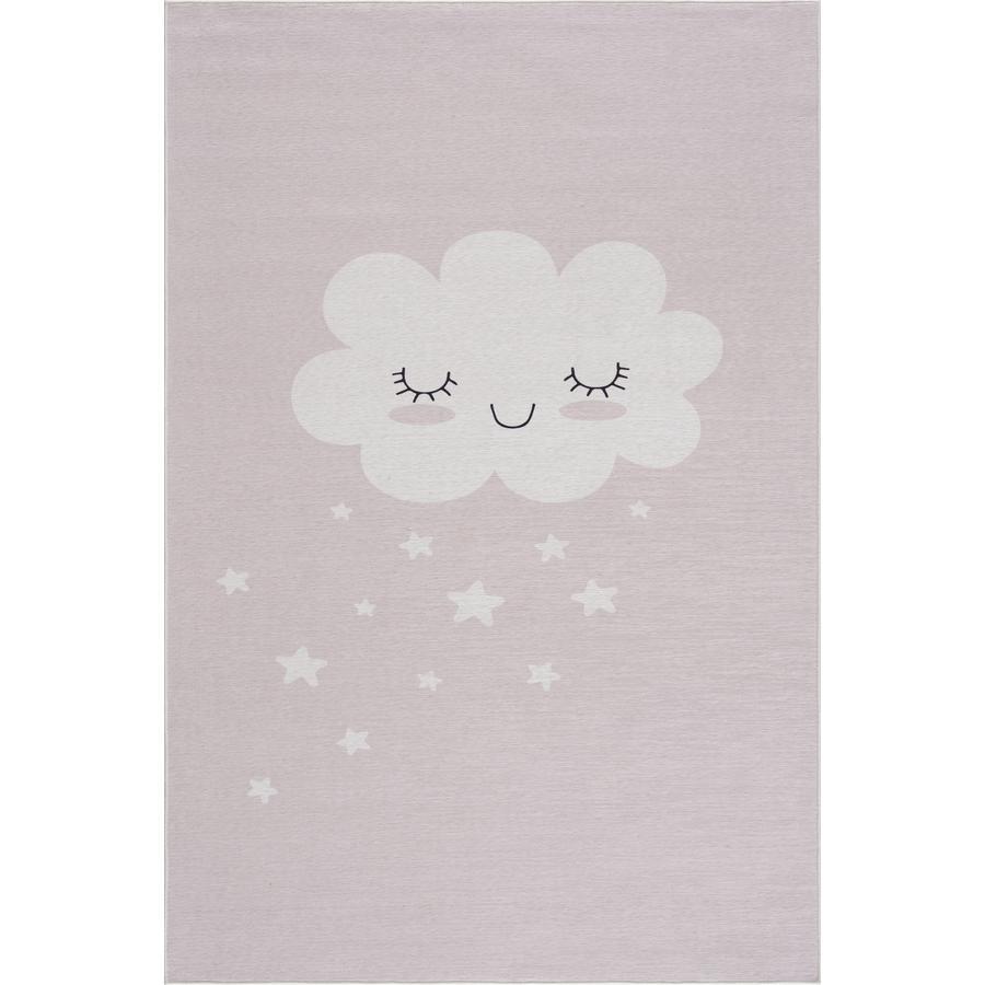 LIVONE dětský koberec Happy Rugs CLOUD růžový 90 x 160 cm