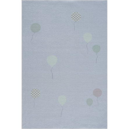 LIVONE Tapis enfant Happy Rugs BALOON bleu 90x160 cm