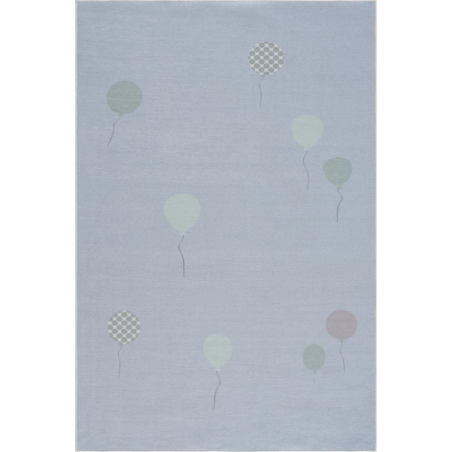 LIVONE Kinderteppich Happy Rugs BALOON blau 90 x 160 cm