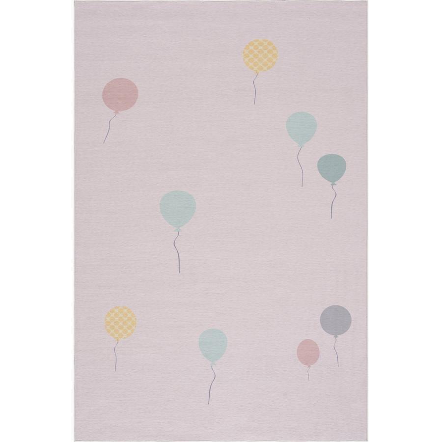 Tapis pour enfants LIVONE Happy Rugs BALOON rose 90 x 160 cm
