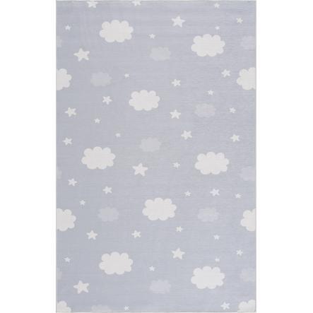 LIVONE dětský koberec Happy Rugs NIGHT stříbrná šedá 90 x 160 cm