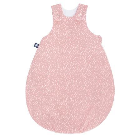 JULIUS ZÖLLNER Gigoteuse bébé Koon Jersey Tiny Squares Blush rose