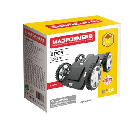 MAGFORMERS® Räder mit Grundplatte 2