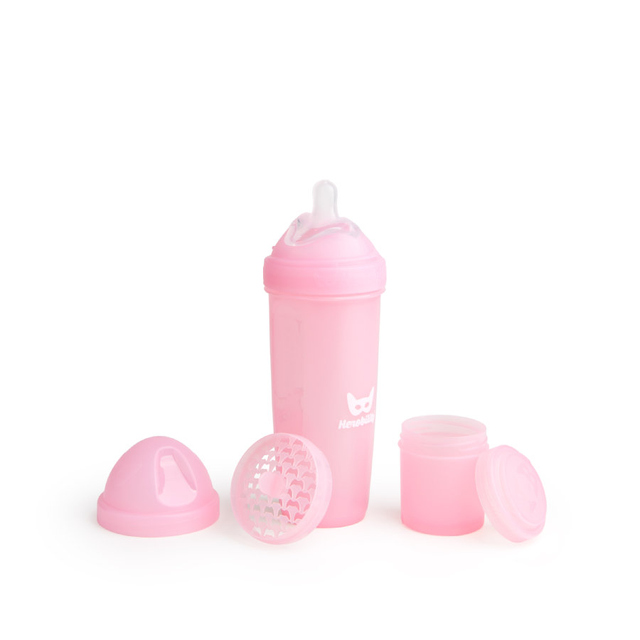 Herobility Biberón Hero Bottle pink