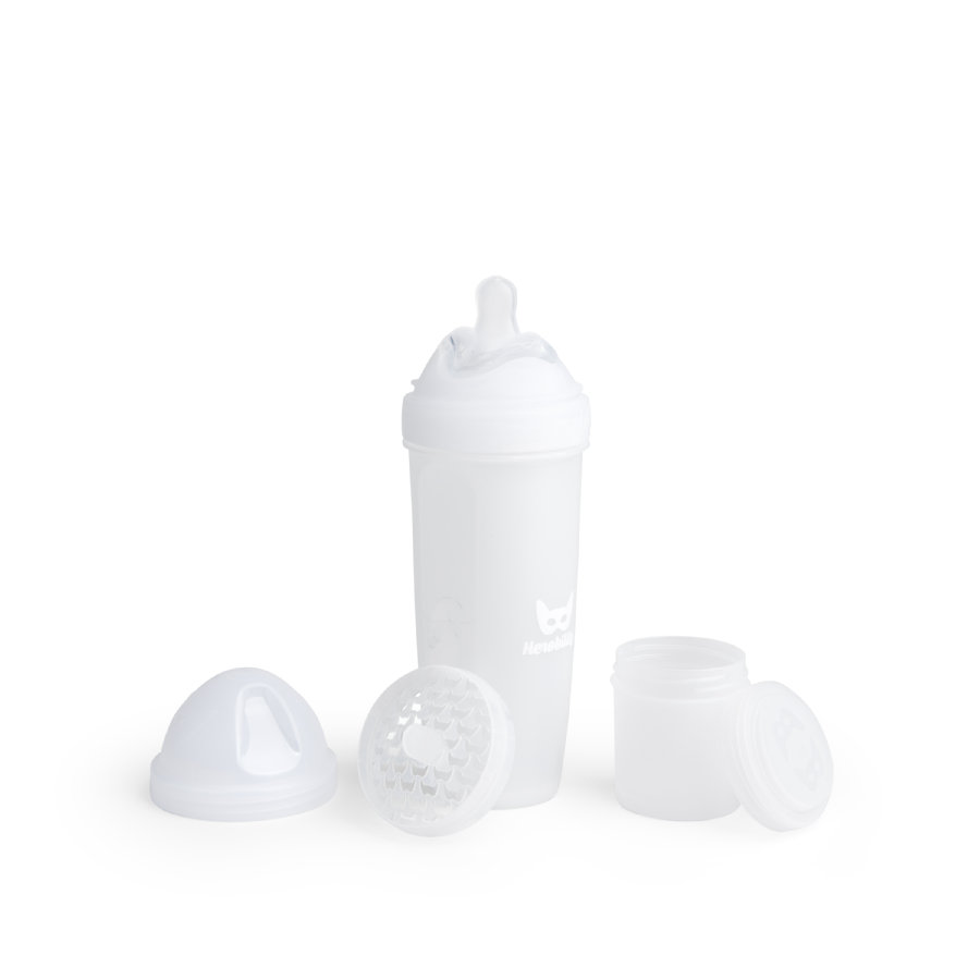 Herobility Biberón Hero Bottle blanco