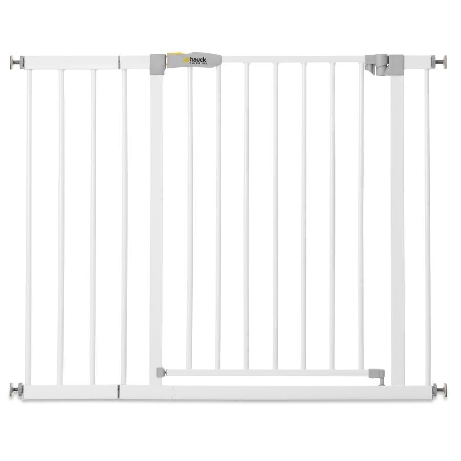 hauck Türschutzgitter Stop N Safe 2 Weiß inklusive 21 cm Verlängerung