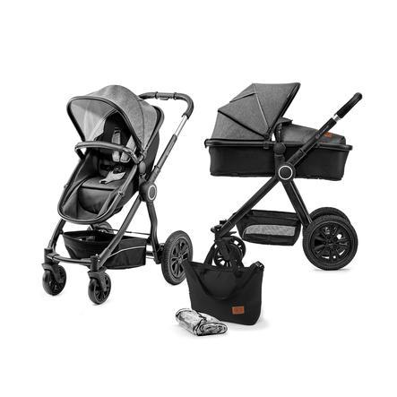 Kinderkraft Kombikinderwagen 2 in 1 Veo Black/Grey