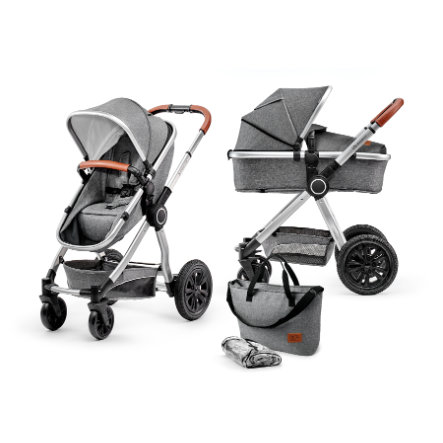 Kinderkraft Combikinderwagen 2 in 1 Veo grey