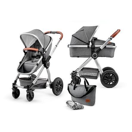 Kinderkraft Wózek dziecięcy 2 w 1 Veo grey