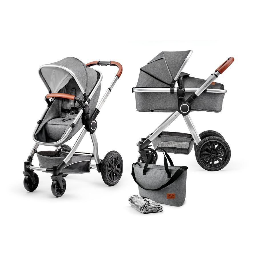 Kinderkraft Kombikinderwagen 2 in 1 Veo Grey