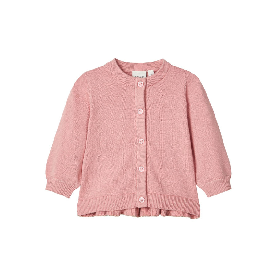name it Cardigan à manches longues NBFKALINE Blush