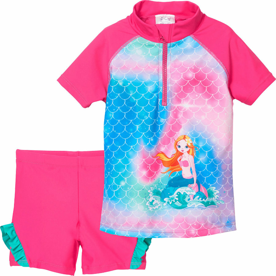 Playshoes UV-Schutz Bade-Set Meerjungfrau