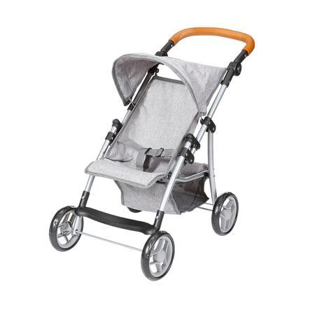 knorr® toys Wózek dla lalek Liba - stone brown