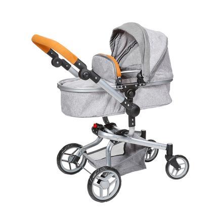 knorr® carrozzina per bambole giocattolo Boonk - stone marrone