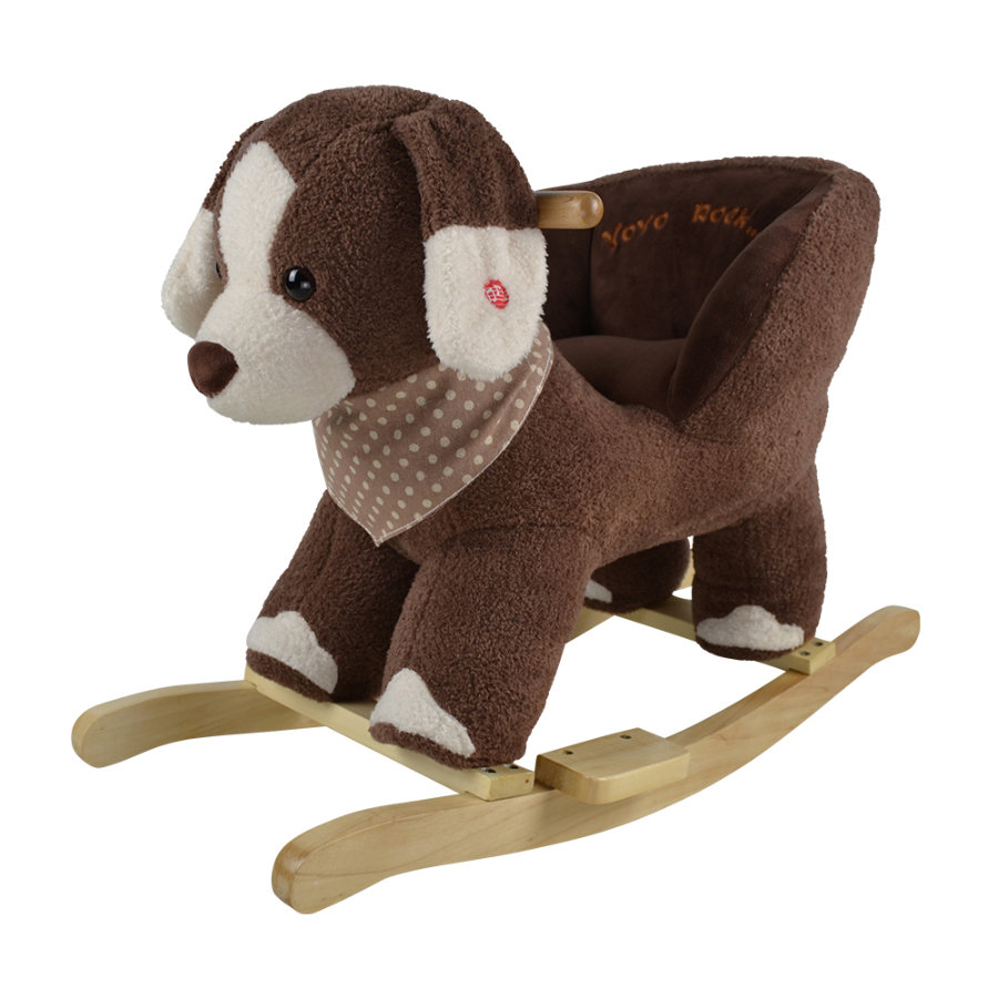 "knorr® toys Schaukeltier ""Oskar"" brown dog"